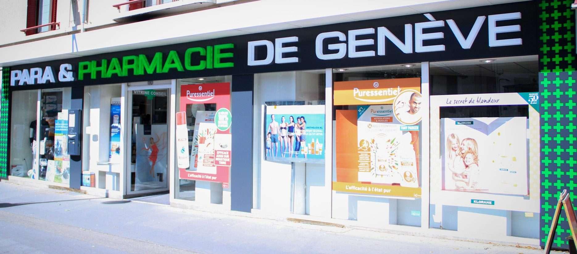 Pharmacie à Annecy